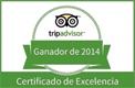 Certificado de TripAdvisor