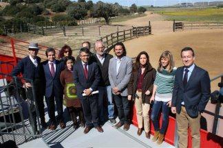 Visita del Diario de Jerez a la ganadería de Álvaro Domecq